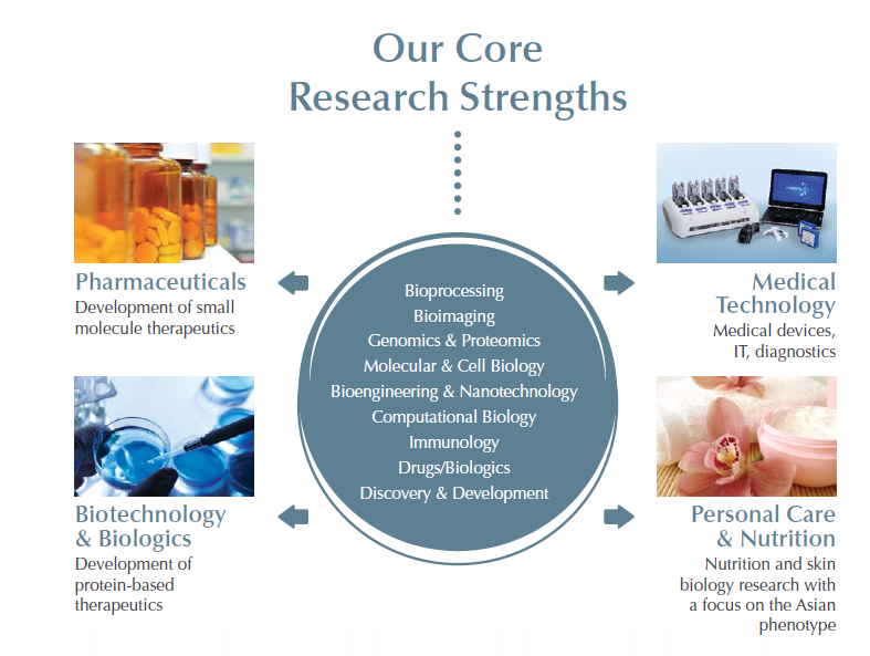 core research strengths