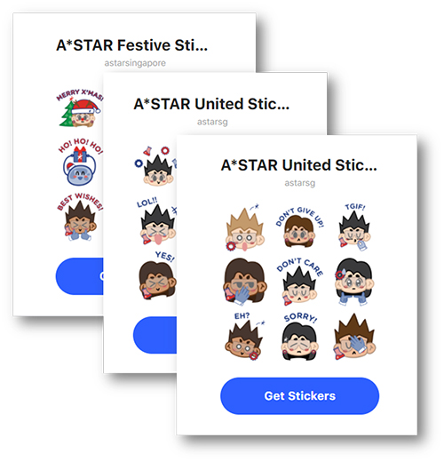A*STAR Stickers