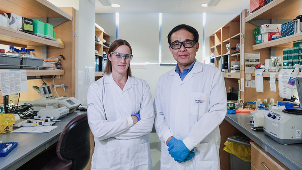 Duke-NUS Medical School - Prof Wang Linfa and  Asst Prof Danielle  Anderson