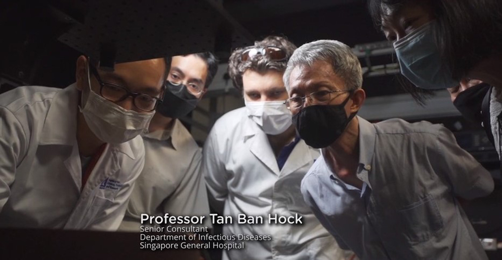 Why is it important to wear a mask - COVID-19 - Prof Tan Ban Hock