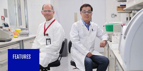 The 'sixth sense' and long nights behind virus test kit