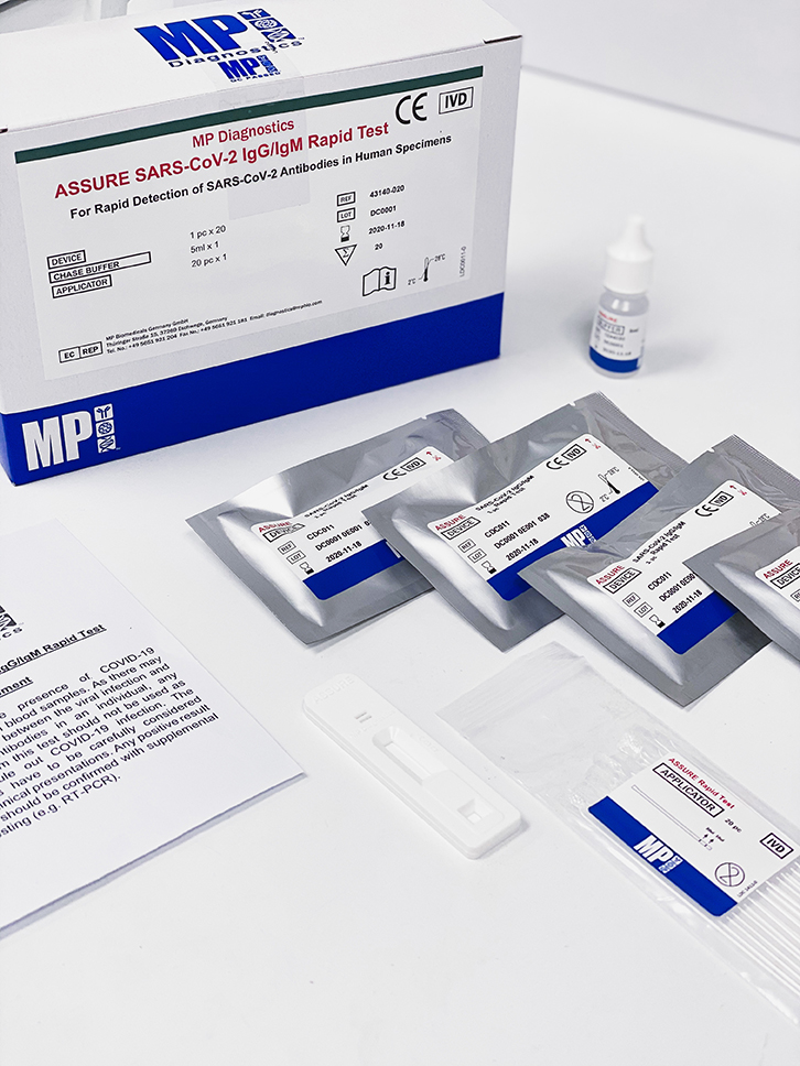 ASSURE SARS-CoV-2 IgG IgM Rapid Test