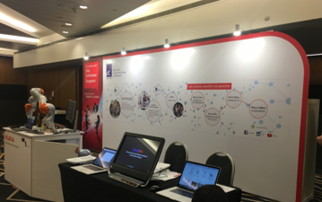 A*STAR exhibits at Fujitsu AWT 2017