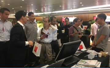 A*STAR booth at Fujitsu AWT 2017