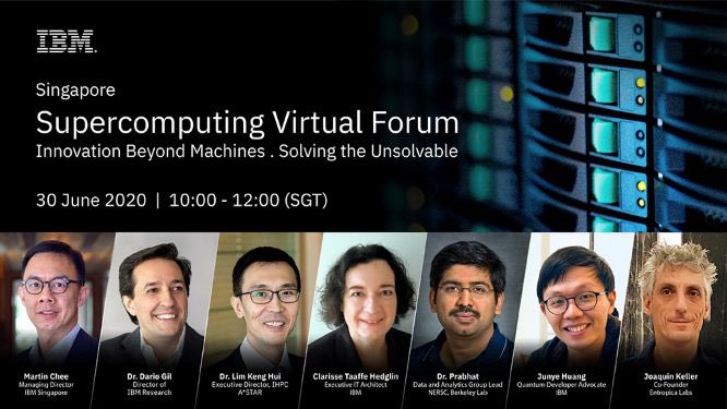 IBM Supercomputing Virtual Forum 2020