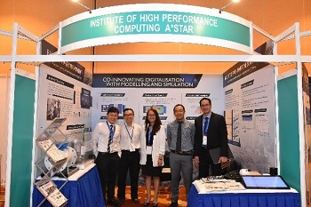 IHPC exhibits at SMTC 2018