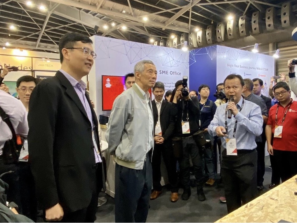 PM Lee Hsien Loong at SWITCH