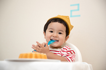 Helping a child eat healthy