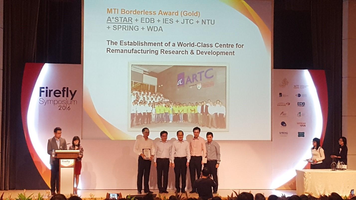 MTI Borderless Gold Award
