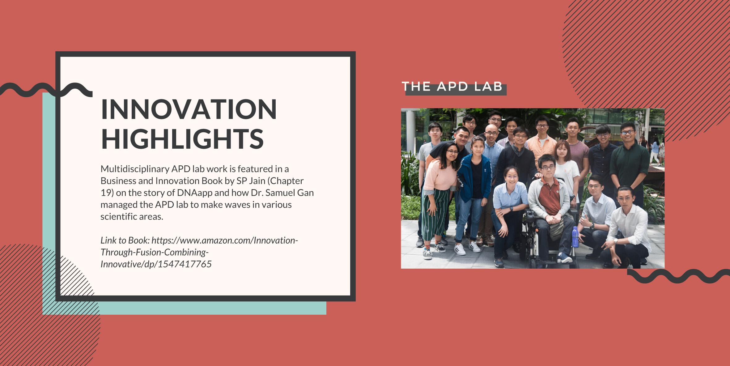 BII - APD Lab Innovation highlights