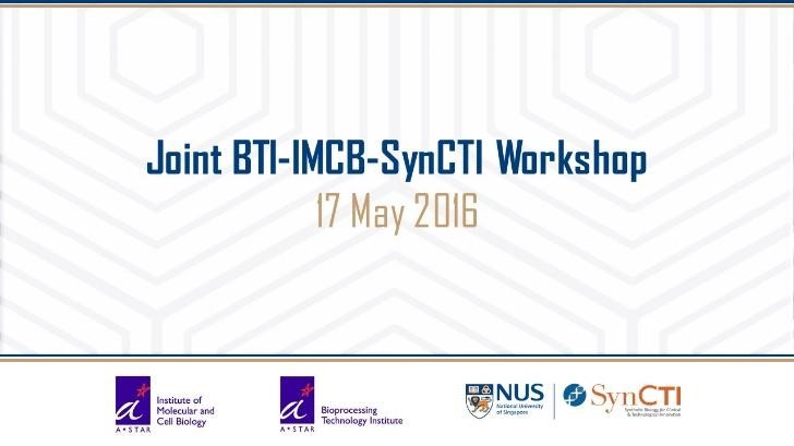 Joint BTI-IMCB-SynCTI Workshop